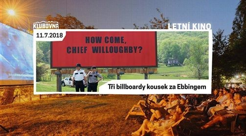 Letn kino v Klubovn Ti billboardy kousek za Ebbingem