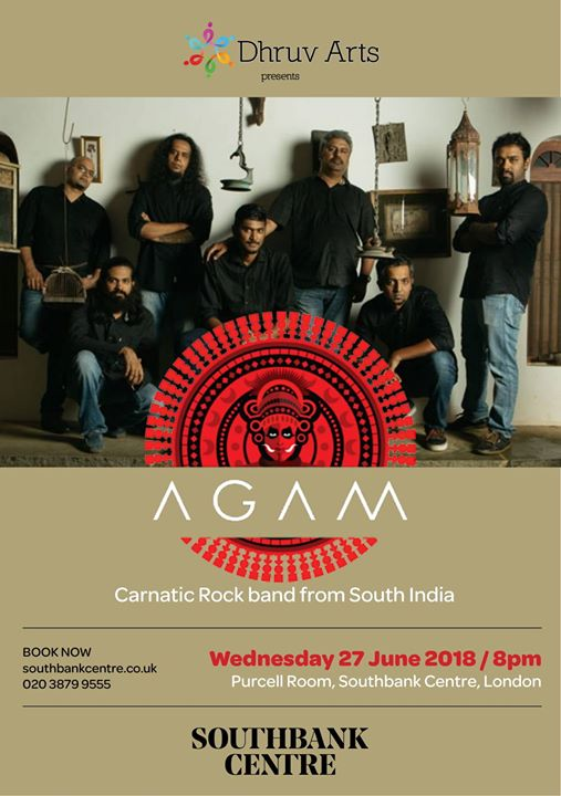 Dhruv Arts presents AGAM carnatic rock band from South India