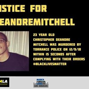 Demand Justice for Christopher DeAndre Mitchell