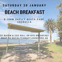 Beach Breakfast - all welcome