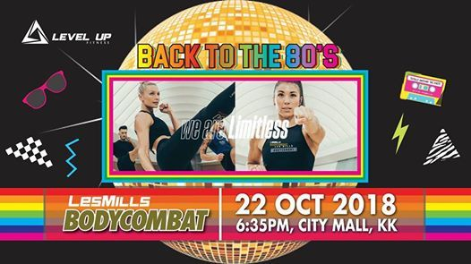 Les Mills BodyCombat Relaunch (LUF 9th Charity Open Day) at Level Up