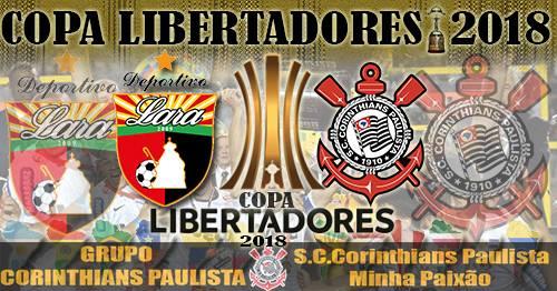 Libertadores  Deportivo Lara X Corinthians