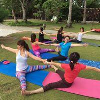 Pre-Christmas Yoga at Pasir Ris