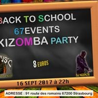 Kizomba Party 67events Back to School