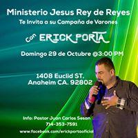 Erick Porta en Anaheim CA.