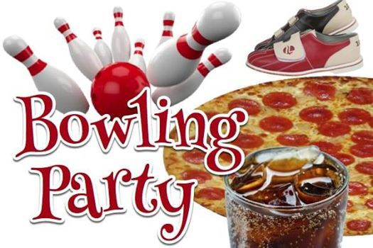 Image result for pizza and bowling