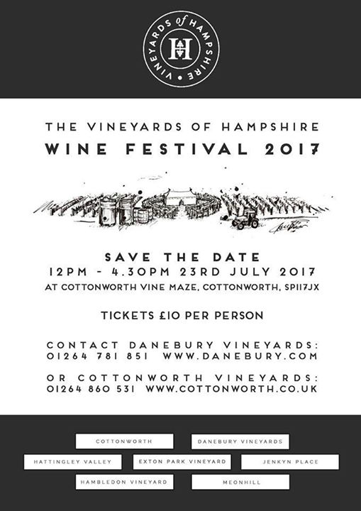 Lucy Mayhew at Vineyards of Hampshire Wine Festival