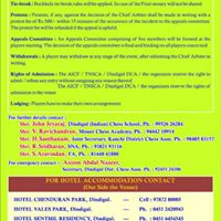 1st ICS -MCA International Rating Chess Tournament (For Below1600 Rated)