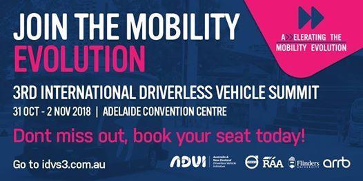 International Driverless Vehicle Summit