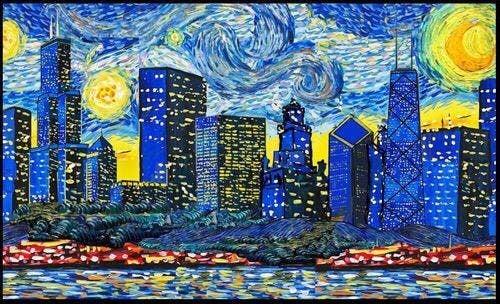 Van Gogh Visits Chicago