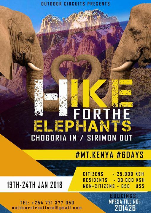 HIKE FOR THE ELEPHANTS