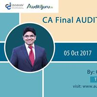 CA Final AUDIT - 1 Day Quick Revision Seminar