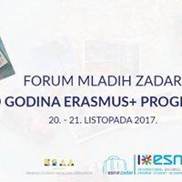 Forum mladih Zadar 30 godina Erasmus programa