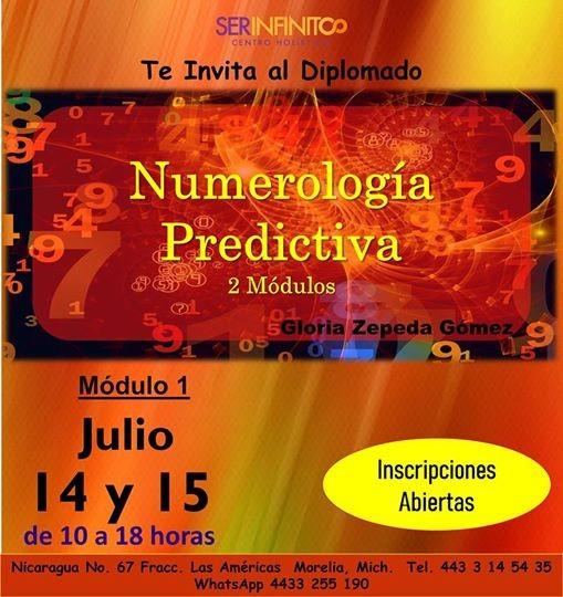 Diplomado De Numerología Predictiva Módulo 1 At Ser Infinito