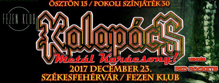 Kalapcs Metal KarcsonySzkesfehrvr Fezen Klub