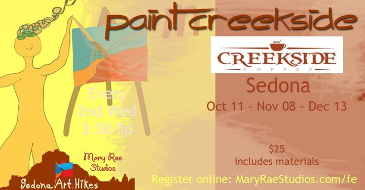 Paint Creekside Sedona