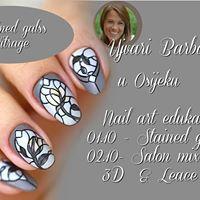 Nail art Ujvari Barbara