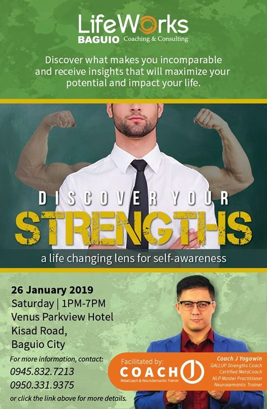 Discover Your Strengths Workshop - Baguio