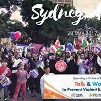 Sydney Australia. Talk&ampWalk to Prevent Violent Extremism