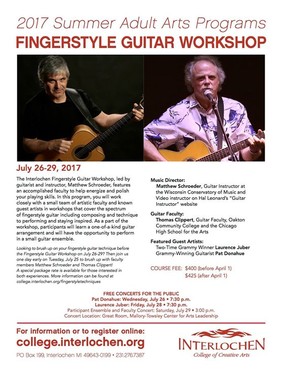 Think, guitar workshop adult