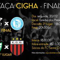 TAA CIGHA - Santa Cruz vs Lajeadense  Avenida vs Guarani