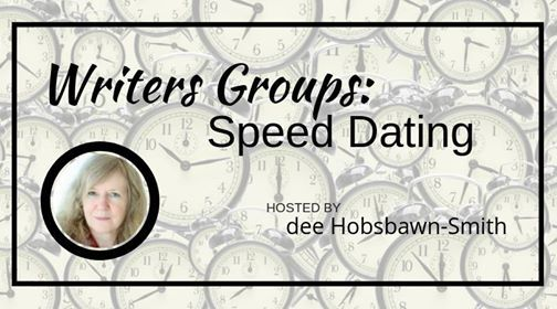 Writers Group Speed Dating