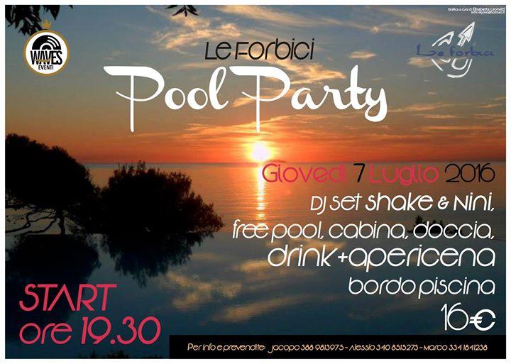 Pool party le forbici at bagno le forbici castiglioncello