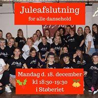 Juleafslutning for alle dansehold hos ElStudio