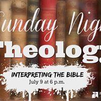 SNT Interpreting the Bible