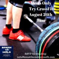 Mens Only Try CrossFit Class