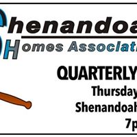 Shenandoah Homes Association Quarterly Meeting