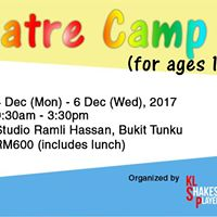 Theatre Camp (for ages 10-12)