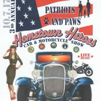 Patriots and Paws 3rd Annual CarTruckMotorcycle Show