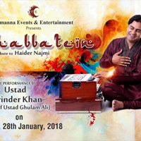Mohabbatein - An Evening Of Ghazal And Poetry
