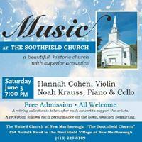 Hannah Cohen &amp Noah Krauss at the Southfield Church