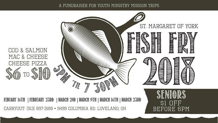 St  Margaret of York | Lenten Fish Fry | Loveland