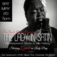 The Lady in Satin An Interpretive Tribute to Billie Holiday