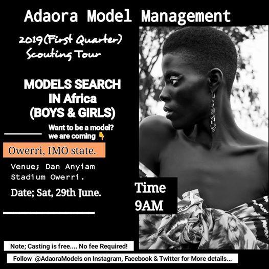 Models Search at Owerri, Imo, Owerri