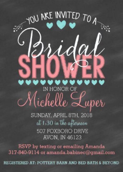 11314ea2522 Michelles Bridal Shower at 507 Foxboro Dr
