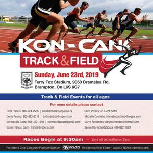 Kon-Can Track &amp Field 2019