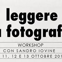 Leggere la Fotografia con Sandro Iovine