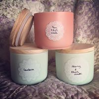 Candle and preserves charity sale