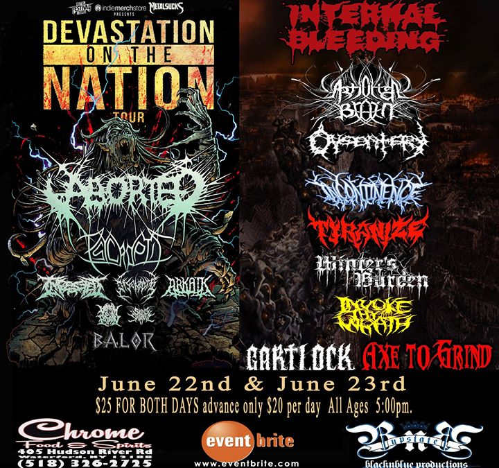 0622- 0623 Devastation Of The Weekend Death Metal Fest