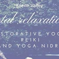 Restorative Yoga Reiki and Yoga Nidra