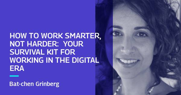 How to Work Smarter Not Harder