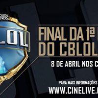 Transmisso CBLOL Cinelive 2017 - Braslia