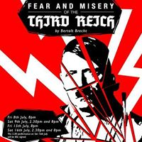 fear and misery of the third Buy tickets for fear and misery of the third reich at the jack studio theatre.