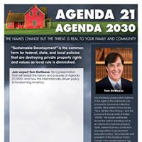 Mr. Tom DeWeese- Agenda 212030 and Your Property Rights