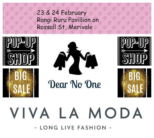 Pop up shop Dear No One & Viva La Moda