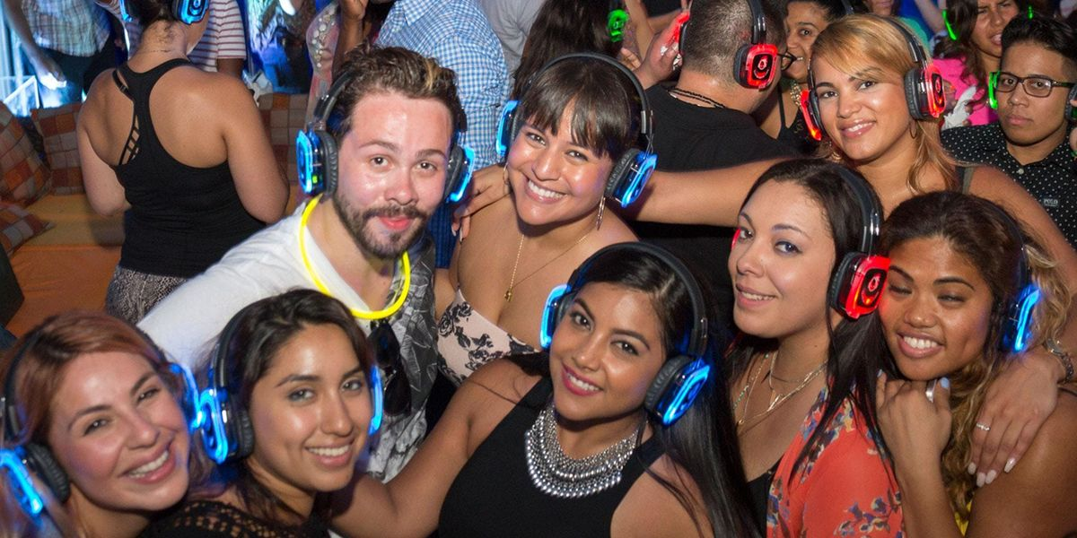 Exclusive Rooftop Quiet Clubbing Headphone Party
